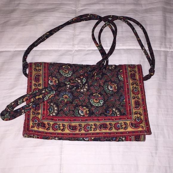 1a42dfef4ca Vera Bradley Bags   Oldschool Designs Small Cloth Purse   Poshmark